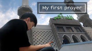 Video My first prayer in mosque MP3, 3GP, MP4, WEBM, AVI, FLV September 2019