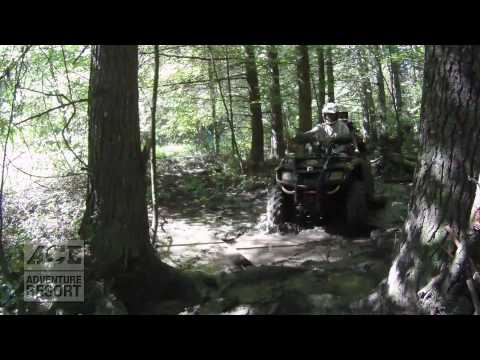 ATV Action: West Virginia Wilderness on Four-Wheelers: GoPro HD Hero Cams