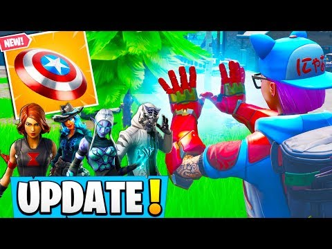"*NEW* FORTNITE UPDATE! AVENGERS LTM! ""ENDGAME"" (Ironman, Thor + ALL WEAPONS!) - Fortnite Moments"