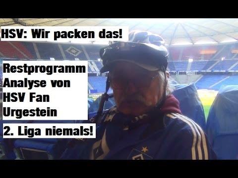 HSV Saison 2013/14 Restprogramm und Analyse - Niemals 2. Liga (видео)