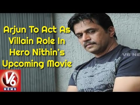 Arjun To Act As Villain Role In Hero Nithin's Upcoming Movie