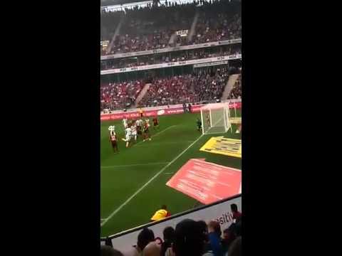 Hannover 96- Sv Werder bremen 2014, Tor zum 1:2 (видео)