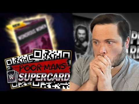 I FOUND QR CODES!! Risking it all on Packs! | Poor Man's WWE SuperCard #3