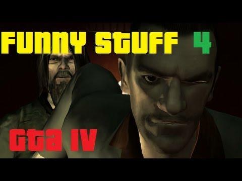 GTA 4 gameplay (14) Funny Stuff 4 - part 1/2