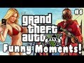 GTA 5 Funny Moments! #6 (Stunts, Grenades, Crashes, Fails & MORE!)
