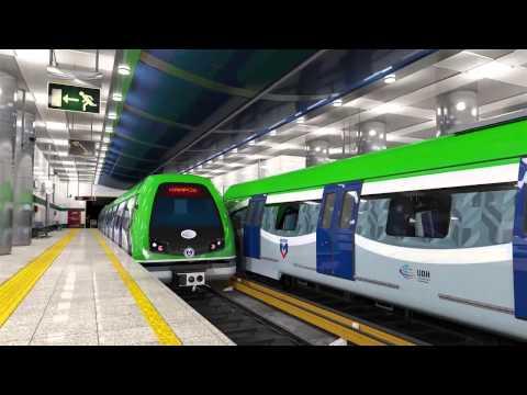 Konya Metrosu ve Hatları Böyle Olacak