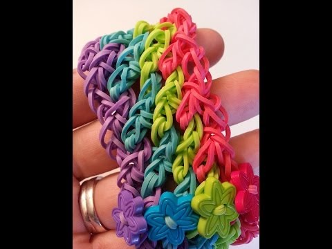 Lattice Bracelet Tutorial by feelinspiffy (Rainbow Loom)