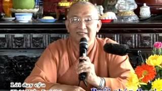 Bài giảng: Lời Dạy Của Thật Hiền Đại Sư - Hòa Thượng Thích Giác Hóa