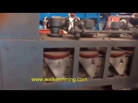 Coltan cross belt magnetic separator