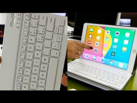 Ecco un'ottima tastiera esterna in italiano per iPad, leggera e bella!
