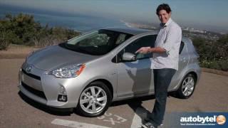 2012 Toyota Prius C Test Drive&Hybrid Car Review