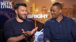 Nonton Bright (2017) Will Smith & Joel Edgerton talk about their experience making the movie Film Subtitle Indonesia Streaming Movie Download