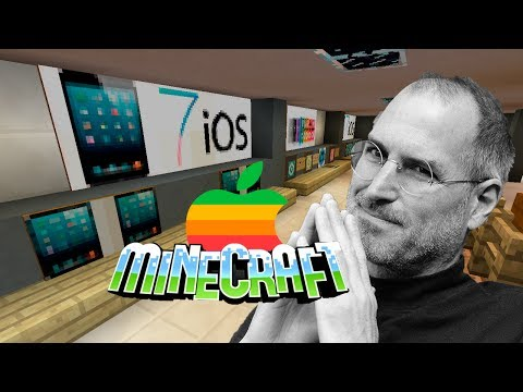 #41 Apple store в Minecraft!!!