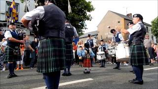 Gorey Ireland  city photos : Gorey Pipe Band - All Ireland Champions - Gorey Market House Festival 2014