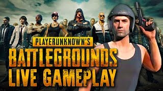 Jake and Mike descend onto the island in search of chicken in the second week of their PUBG stream series.
