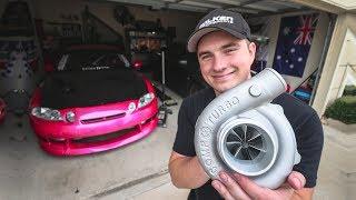 My new turbo is HUMONGOUS!!! by Evan Shanks