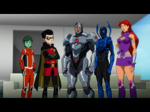 Justice League Vs Teen Titans Trailer