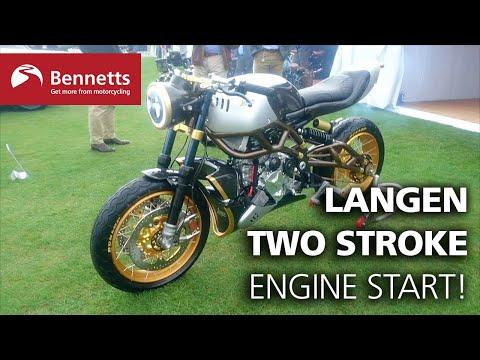 Starting up the Langen 'Two Stroke'!
