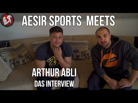 Aesir Sports on Tour #3: Interview mit Physique Athlet Arthur Abli