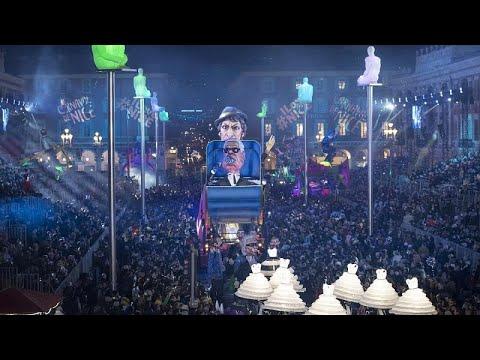 Γαλλία: Σε εξέλιξη το Καρναβάλι της Νίκαιας παρά την απειλή του νέου κορωνοϊού…