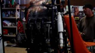 7. Yamaha Genesis 120 HP engine first start up on gyroplane
