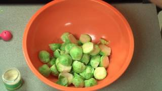 Roasted Brussels Sprouts & Apples Preparation/Cook Time: 45 minutes Number of Servings: 6 Ingredients: 1 tablespoon olive oil...