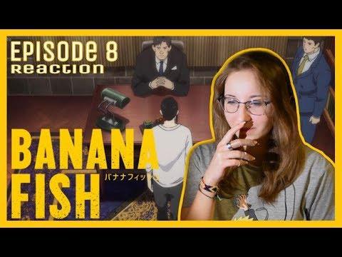 Banana Fish - Episode 8 Reaction