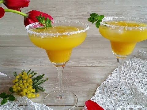 cocktail analcolico mimosa - la videoricetta