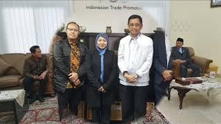 Kunjungan Kepala Pusat Penanganan Isu Strategis Kementerian Perdagangan