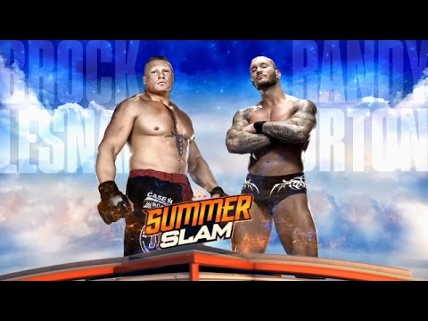 Randy Orton and Brock Lesnar sound off before their SummerSlam collision