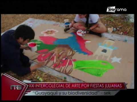 XXI Intercolegial de arte por fiestas julianas Guayaquil y su biodiversidad - Sek