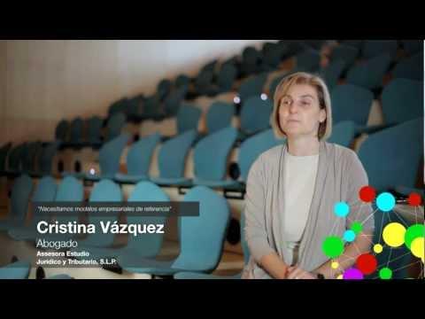 Hablamos con Cristina Vázquez en Enrédate Castellón 2011.