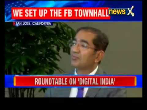 #ModiInUS  India's Techie Czare on NewsX