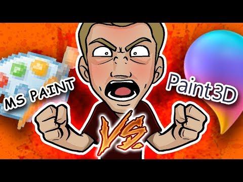 Video MS PAINT Vs. PAINT 3D - Which Microsoft Art Program WINS?! download in MP3, 3GP, MP4, WEBM, AVI, FLV January 2017