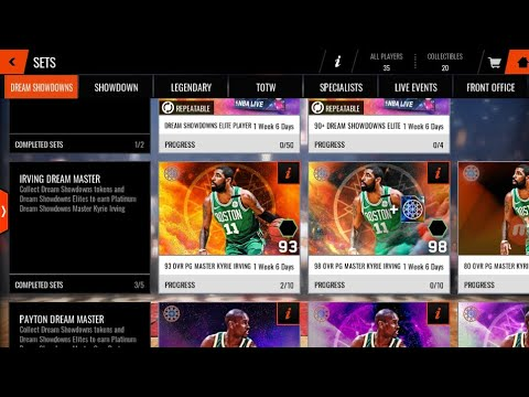 NBA:Live Mobile: GETTIN THE 88 OVR KYRIE IRVING!