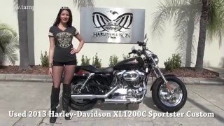 1. 110th Edition 2013 Harley Davidson Sportster 1200 Custom