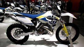 4. 2014 Husqvarna TE 250 Walkaround - 2013 EICMA Milan Motorcycle Exhibition