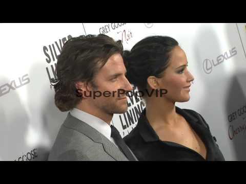 Bradley Cooper, Jennifer Lawrence at Silver Linings Playb...