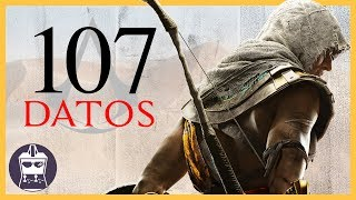 107 Datos de Assassin's Creed Origins que DEBES saber (AtomiK.O. #23)