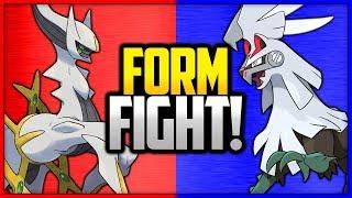 Arceus vs Silvally | Pokémon Form Fight by Ace Trainer Liam