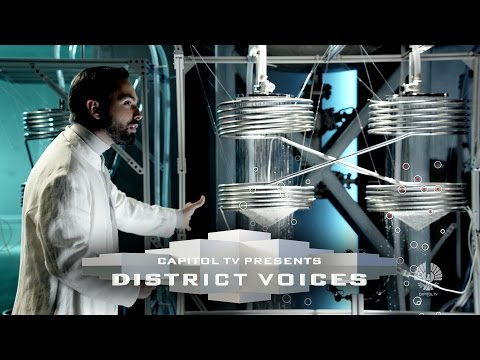 from - Panem finds power in the radiance of the sun, and the water which rains down upon us! District 5's Chief Energy Researcher Derek Muller takes CapitolTV on a tour of our nation's cutting edge...