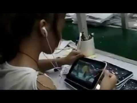 來看看中國山寨版iPad製作過程實錄