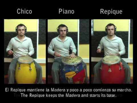 Los 3 Tambores de Candombe Juntos - Candombe D~