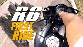 10. Yamaha R6 First Ride