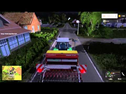 Farming Simulator 15.Карта Holzhausen Map!Часть1!