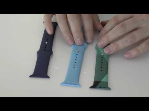 Drei Sportarmbänder für die Apple Watch im Vergleich