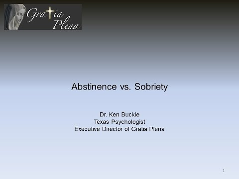 Season 1 Episode 15   Abstinence vs  Sobriety