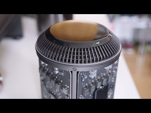 mac - Mac Pro 2014! Probably won't see another one like this for a while. Mac Pro Performance Review: http://youtu.be/MVyA-T2lNNk Unboxing & Impressions: http://yo...