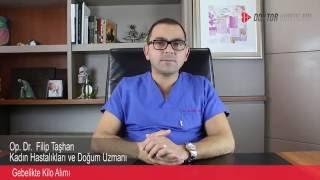 Op.Dr. Filip Taşhan - Gebelikte Kilo Alımı