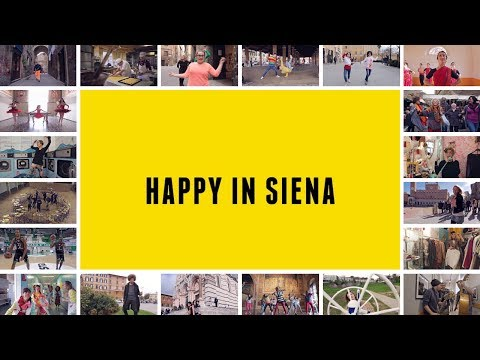 Happy in Siena